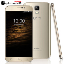Original UMI ROME X 5.5 inches Mobile Cell Phone Quad Core Android 5.1 64bit MTK6580 1.3GHz 1280*720p 13.0MP 3G WCDMA Smartphone