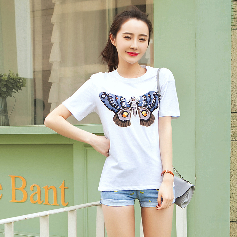 2015 Wholesale O Neck Woman 39 S T Shirt Short Sleeve Solid