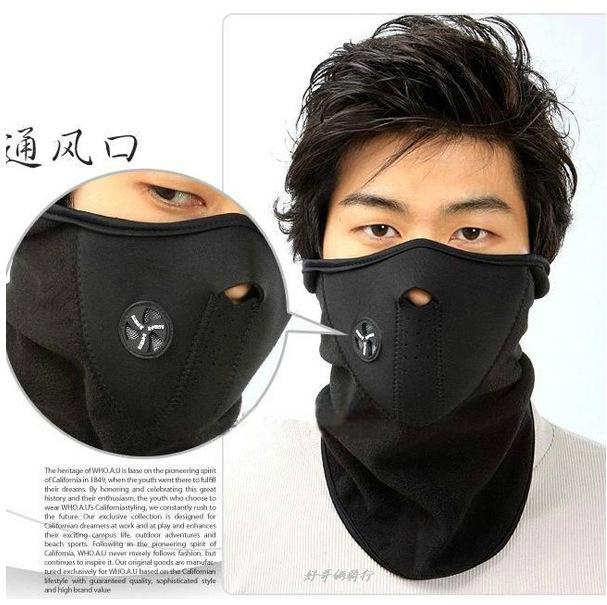 Free Shipping Neck Warmers Balaclavas CS Hat Headgear Winter Skiing Ear Windproof Face Mask Motorcycle Bike Scarf(China (Mainland))