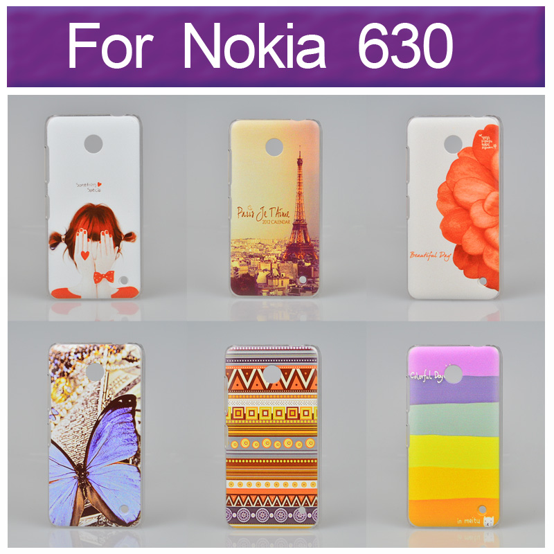 Гаджет  Hot Sale Fashion Artistic Color Drawing Design Paiting Back Cover Case for Nokia Lumia 630 With Different Options None Телефоны и Телекоммуникации