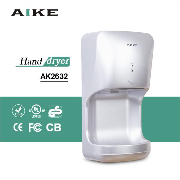 Free shipping CE CB ULhidden switch design jet air automatic hand drier bathroom restaurant equipment Hand dryer(China (Mainland))
