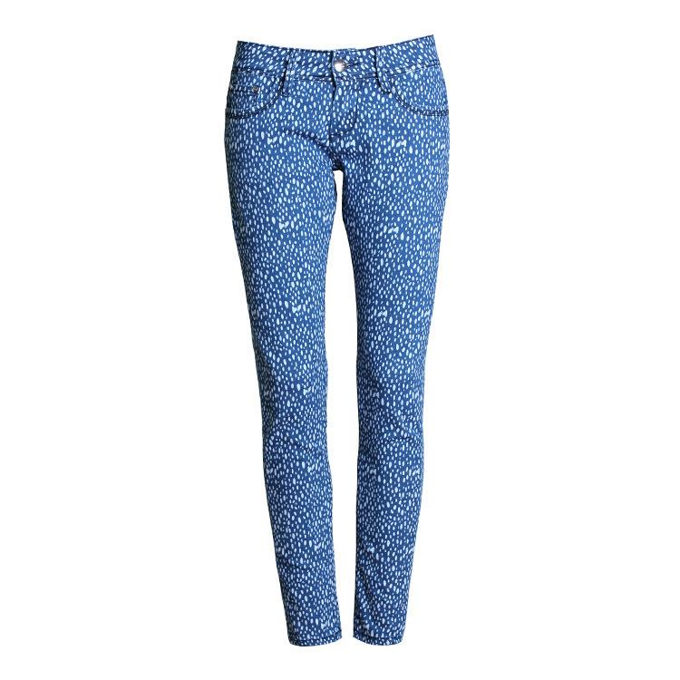 ladies skinny denim jeans fashion women low waist printed. Black Bedroom Furniture Sets. Home Design Ideas