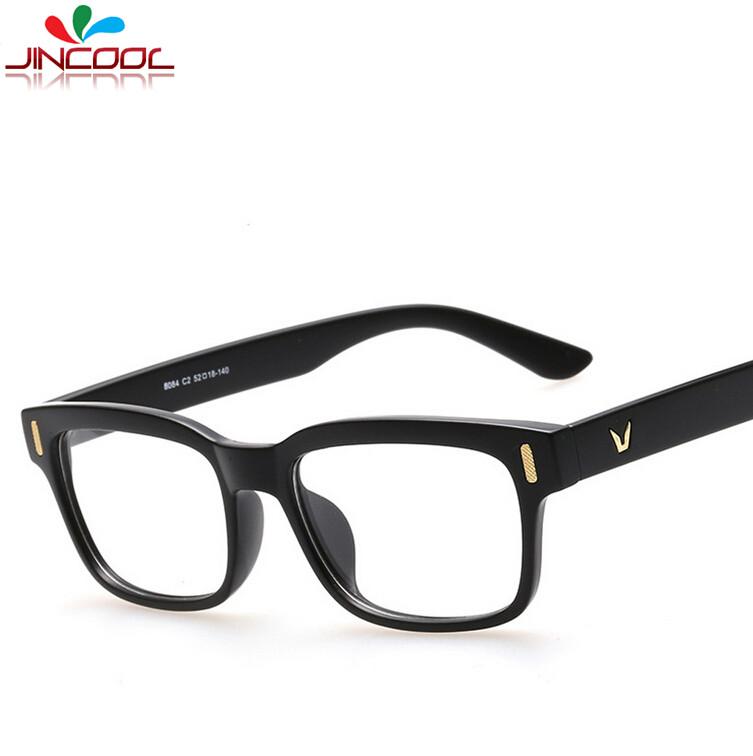 JinCool 2016 Vintage Square Frame Glasses Women Brand ...