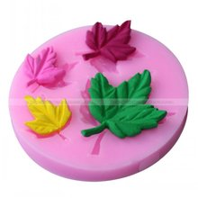 3d leaf silicone mould kitchen bakery moldes cupcake fondant decorating kits silicone candy molds accessory
