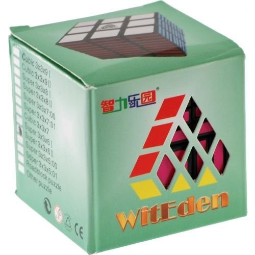 WitEden Tremendous 3x3x6 II Black Physique Magic Dice Puzzle Sizzling Promoting Youngsters Twisty Toy