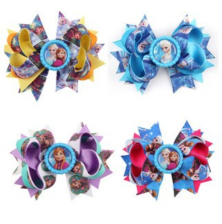 EMS/DHL Free Shipping New Arrival! Cartoon Flower Headband children's Hot Models Butterfly Knot Hair Clip(China (Mainland))