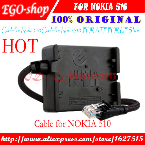 free shipping Cable for Nokia Lumia 510 flash unlock repair for jaf/ufs box(China (Mainland))