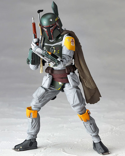 The Bounty Hunter Boba Fett Action Figures