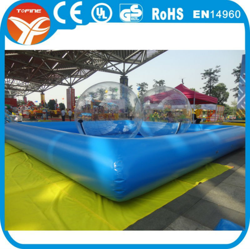 Buy Commercial Ground Pool Large Inflatable Swimming Sale Magical House Toys Guangzhou Store