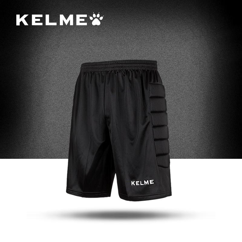 Kelme 2016 goalkeeper training pants Professional football training pants black color clothes Size S-XXXL Free shipping(China (Mainland))