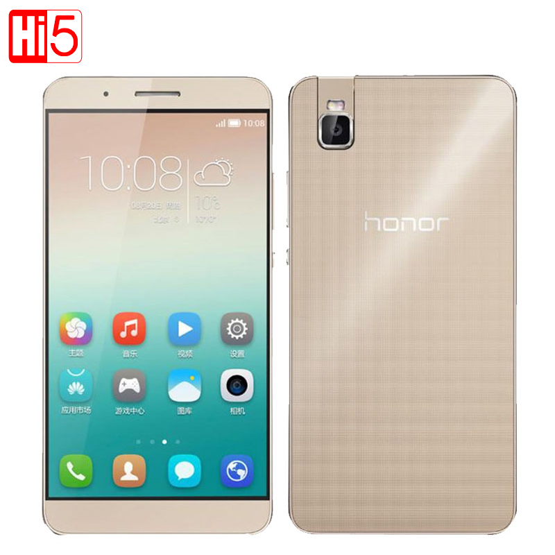 Original Huawei Honor 7i 4G LTE Mobile Phone 3GB RAM 32GB ROM 13.0MP Snapdragon 616 Octa Core 5.2Inch 1920x1080p EMUI 3.1(China (Mainland))