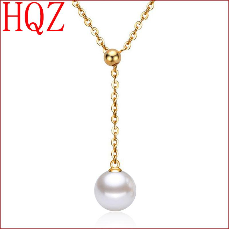 New Luxury Silver Plated Rhinestone Crystal Women Necklace Fashion Necklaces Pendants Bead Chain Jewelry(China (Mainland))