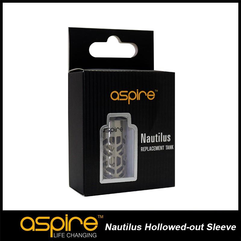 ถูก ร้อนขายบุหรี่อิเล็กทรอนิกส์อุปกรณ์เสริม5มิลลิลิตรความจุAspire Nautilusออกโหลแขนสแตนเลสเปลี่ยนหลอด