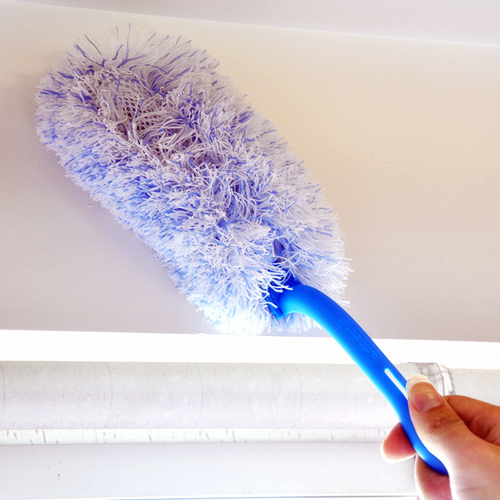 Household Folding Handle Microfiber Cleaning Duster Detachable Washable Dust Cleaner H100742-3(China (Mainland))