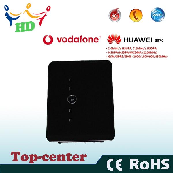 New 3G Router Huawei B970b , Original 3G wireless Router unlocked HSDPA WIFI router(China (Mainland))