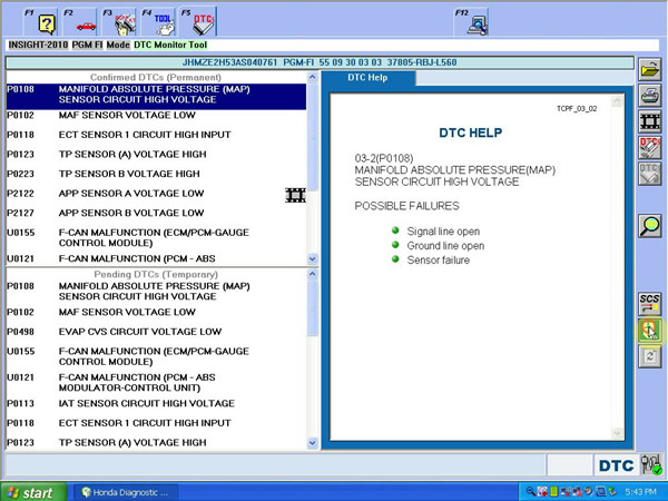 Honda HDS With Double Board Software 4
