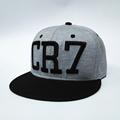 2016 new Cristiano Ronaldo gray CR7 Baseball Caps hip hop Sports Football hat men women Snapback