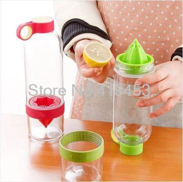 Lemon Cup My Fruit Bottle Juice Readily Cup Drinking Water Bottle Drinkware for outdoor fun & sports bike water bottle B1091(China (Mainland))