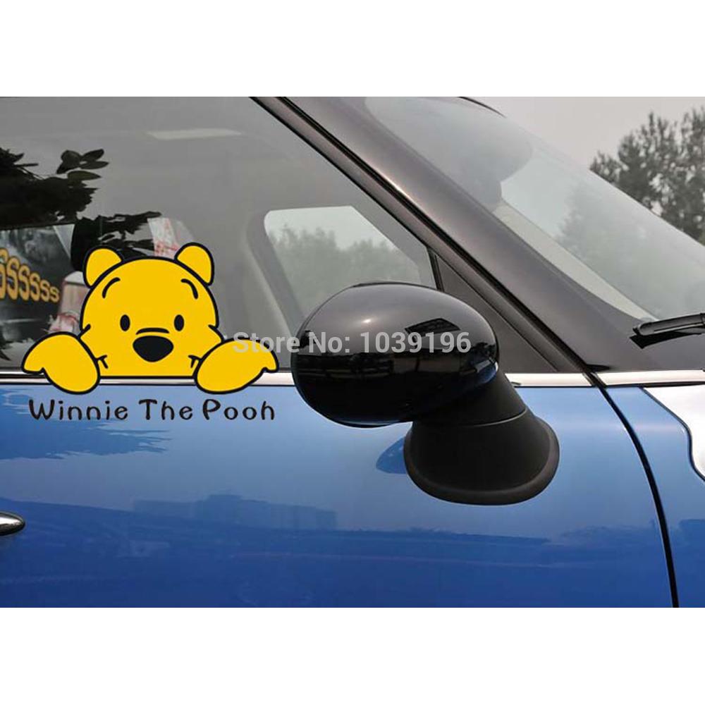 Honda car sticker design - Funny Car Sticker Car Body Winnie Decal For Tesla Ford Chevrolet Volkswagen Honda Hyundai Kia Lada