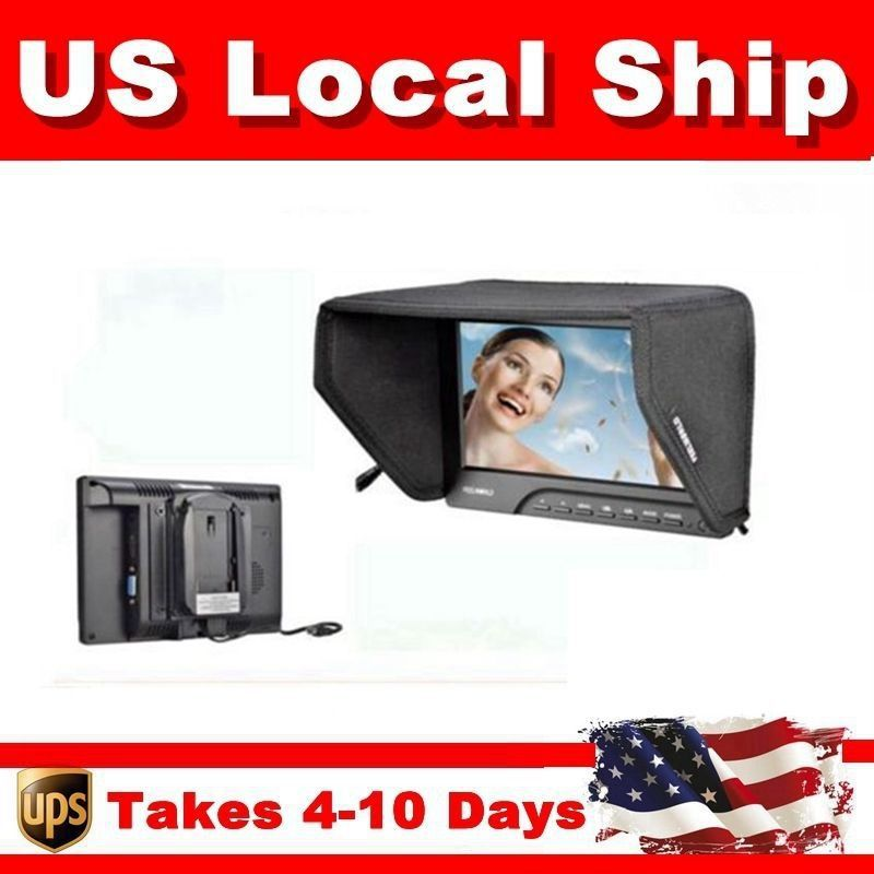 """Free Shipping from local US stock!FEELWORLD FW689-HD 7"""" HD On Camera Field Monitor 1080P HDMI Video Peaking Filter 5D III(China (Mainland))"""