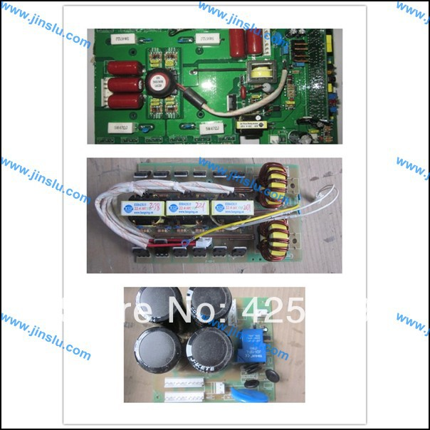 A set of MOSFET ARC160 inverter welder PCB, upper power PCB middle output PCB bottom input circuit board, MOSFET inverter PCB(China (Mainland))