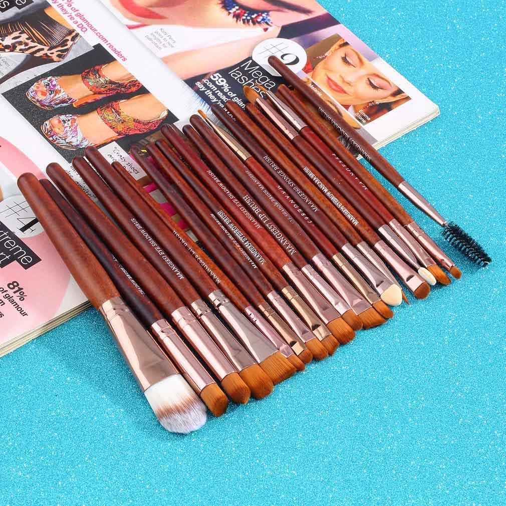 20Pcs Professional Makeup Brushes beauty Cosmetics Tools Foundation Eyeshadow Lip Brush Make Up Brushes Set pincel