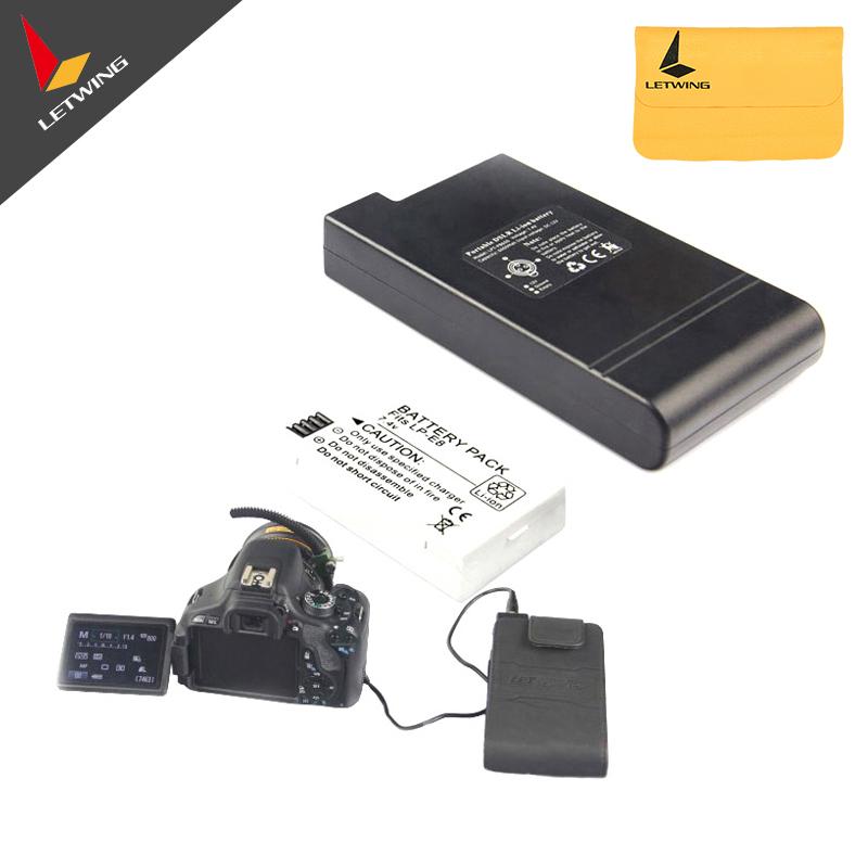 Lanparte Portable DSLR Li-Ion Battery EL15 EN-EL15 6000mAh PB600 For D6000 D7000 D800E D800 V1<br><br>Aliexpress