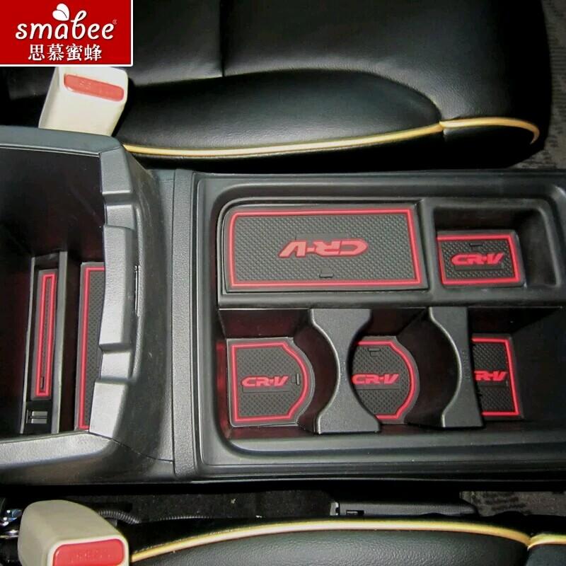4pcs Set For 2008 2015 Honda CRV Accessories 3D Rubber Car Mat Car