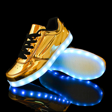 Led Shoes Unisex Valentine Fashion USB Rechargeable Light Up For Adults 7 Colors Luminous Shoes