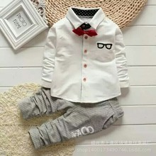 1 4 Years 2016 New Fashion Baby Boy Clothes Kids Children Formal Clothing Set For Toddler