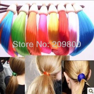 Free shipping Wholesale Wig hair ring Hairclips / Hairpins / Hairwear / HairAccessories wig headband hair rope elastic hair rope