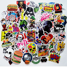 Vinyl Sticker w/ Graffiti Pattern Waterproof for Car & Laptop