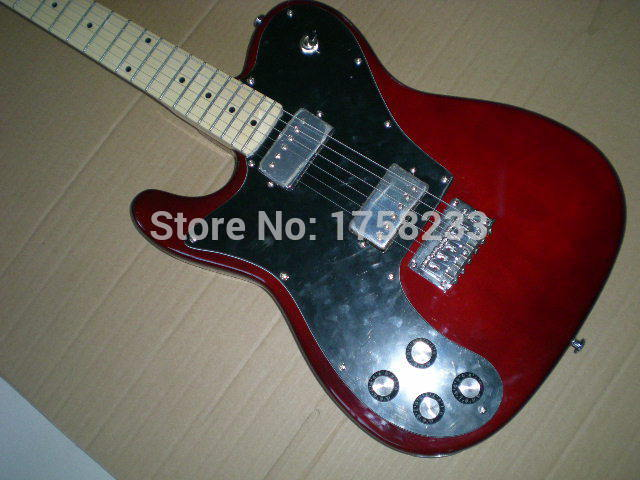 2019 Telecaster guitar High Quality red tele Left hand guitar telecaster electric guitar Double bread edge in stock(China (Mainland))