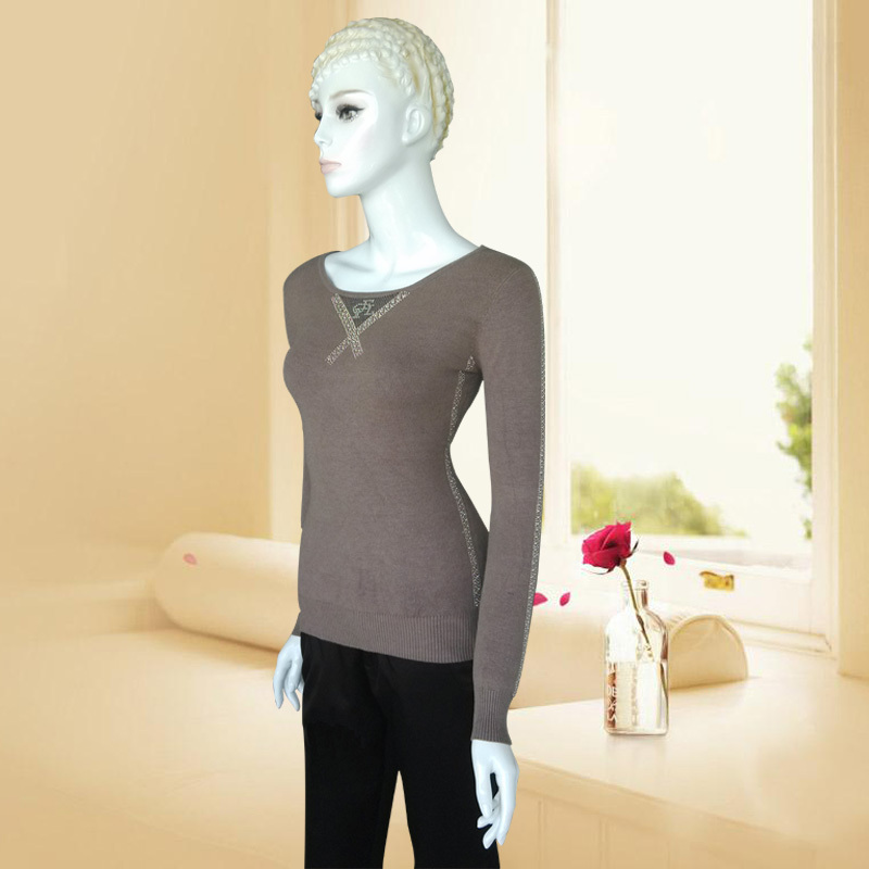 SALE New 2016 Autumn Women Wool Sweater Jumper Knitted Pullover Cashmere Sweaters Long Sleeve Sweter Mujer Pullovers Wholesale(China (Mainland))