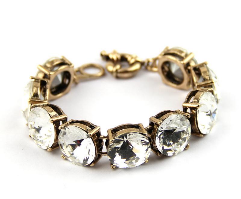 Crystal Bracelet Online Bracelet Dot Clear Crystal