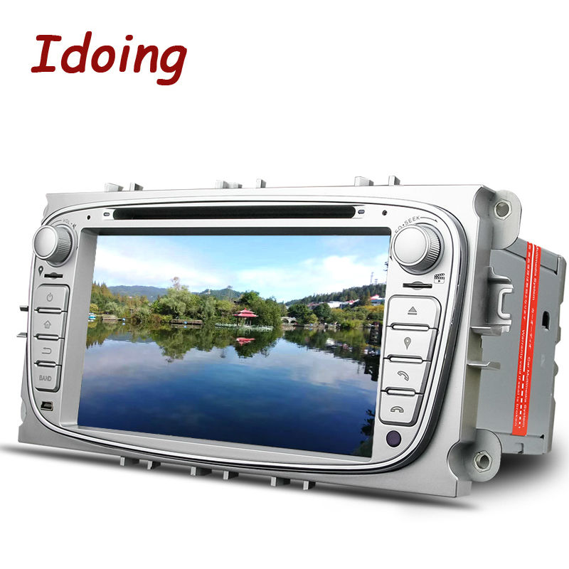 Idoing Steering-Wheel 2Din For Ford Focus Mondeo S-Max Car DVD Multimedia Player Android5.1 GPS Navigation Bluetooth TV 3G WIFI(China (Mainland))