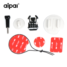 Buy Aipal Safety Insurance Tether Straps Sticker Mounting Kit Aipal Gopro Xiaomi Yi Surfing Kit Action Camera Accessories for $6.39 in AliExpress store
