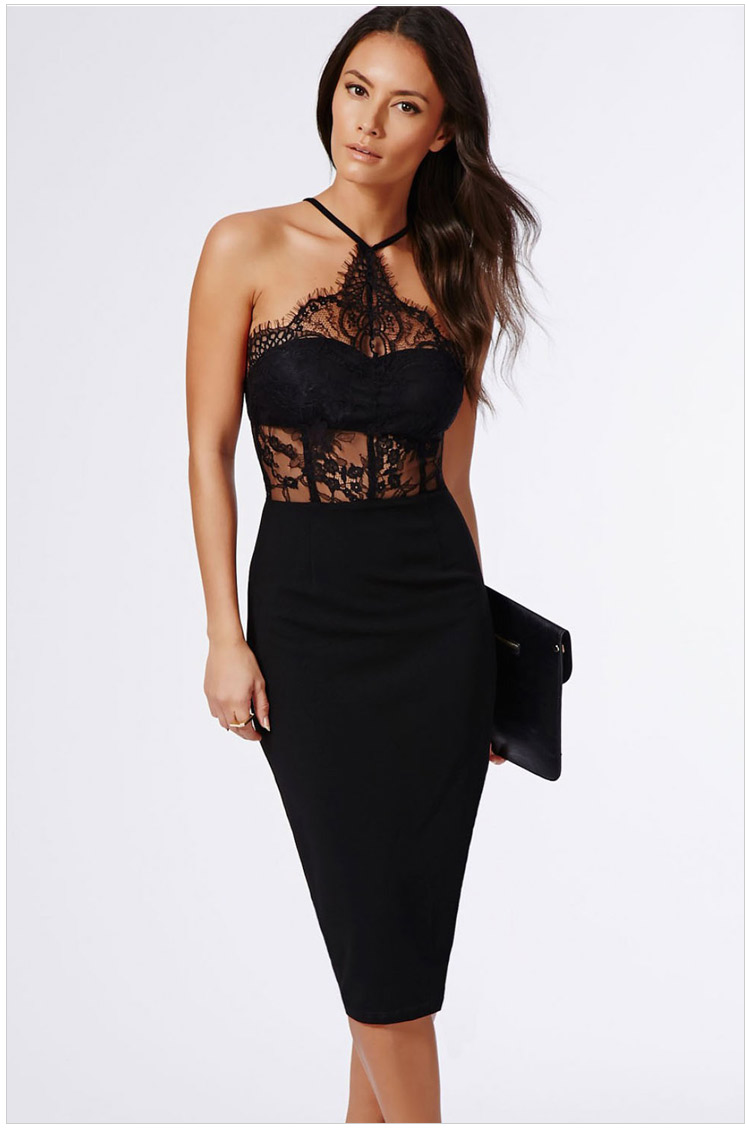 Strapless Tight Dress