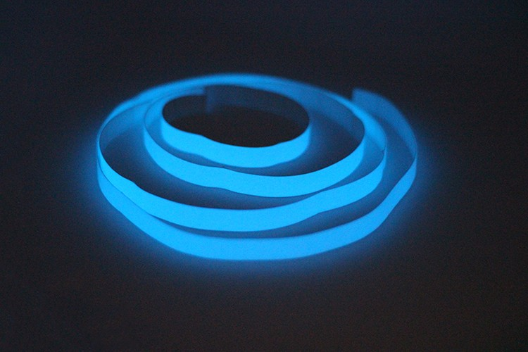 New Arrival DIY Home Decoration Blue Light Glow in the Dark Wall Sticker Decorative Films Kids Room Ceiling Luminous Decor Tapes
