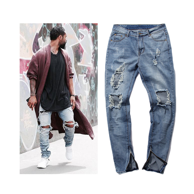 Compare Prices on Big Holes Jeans Men- Online Shopping/Buy Low ...