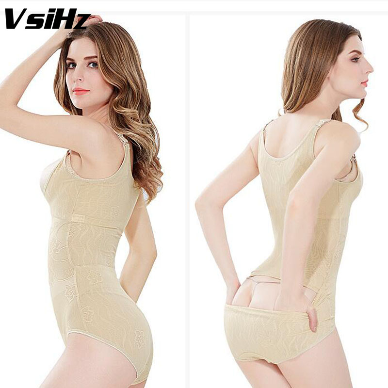 Women shaper Hip opening Slimming sexy Bodysuit Body Shaper Underbust Adjustable Straps Tummy Waist Cinchers Shaper Plus Size(China (Mainland))