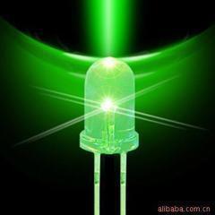 5mm 60 angle pure green 525nm high intensity UV resistant epoxy led screen use free shipping round shape led 3.0-3.2v(China (Mainland))