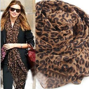 Женщины востребованных шарф леопарда весенней шаль