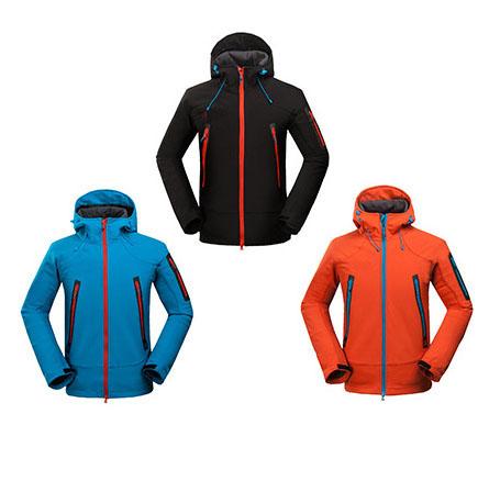 2016 new hiking jacket men hiking jacket waterproof windproof thermal softshell jacket for hiking camping ski super quality