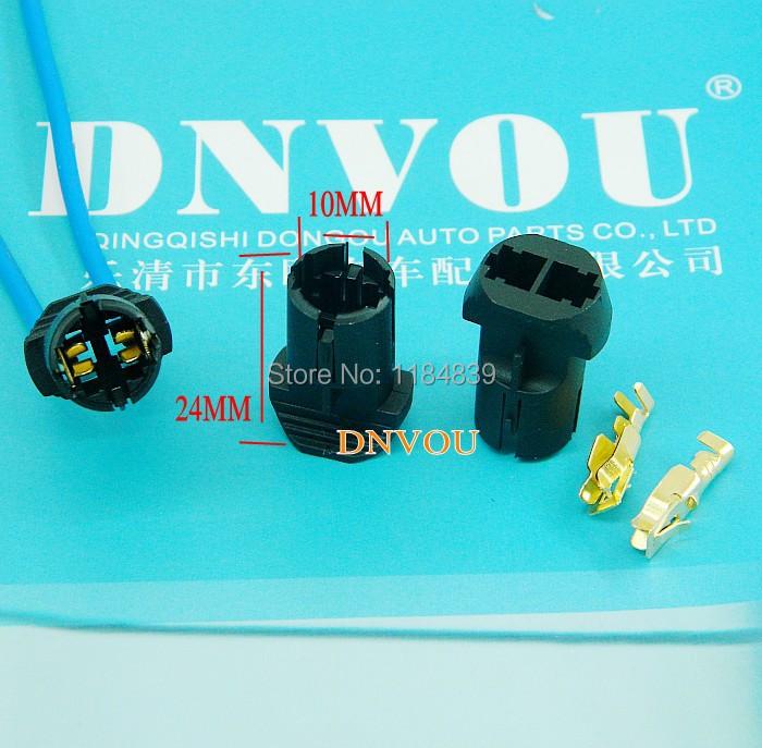 10 set T8 T10 socket T12T13T15 GM lamp holders T5 Volkswagen Golf width lamp socket(China (Mainland))