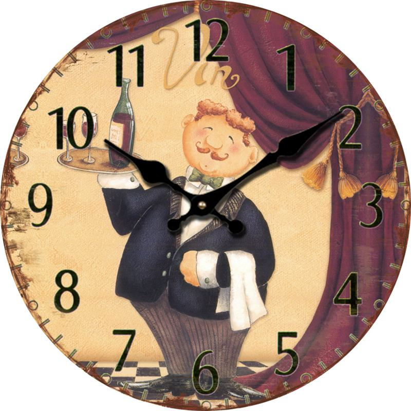 Compare Prices on Antique Wooden Wall Clock Online