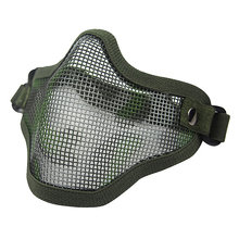 Black TAN Green Color Men Tactical V1 CS Field Operation Protective Wire Mesh Diving Mask For Outdoor Sport Diving CL9-0023A(China (Mainland))