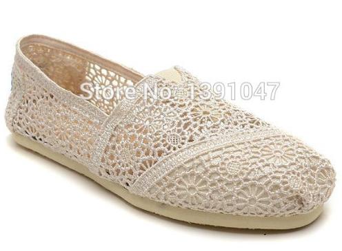 summer sunflower crochet shoe sunflower hollow out crochet soft bottom casual shoes(China (Mainland))