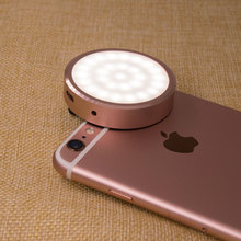 YONGNUO Phone Flash Mini Smartphone Selfie LED Flash Light Synchronous Auto Flash with Phone Rose Gold for Iphone 6 Plus 6 5S 4
