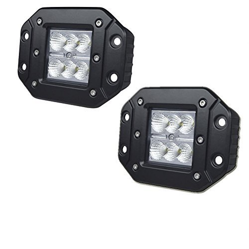3x3 inch Mount led work light 18w spot beam cube pods lamp offroad For truck boat atv jeep F150 Tacoma Bumper 12V-24V(China (Mainland))